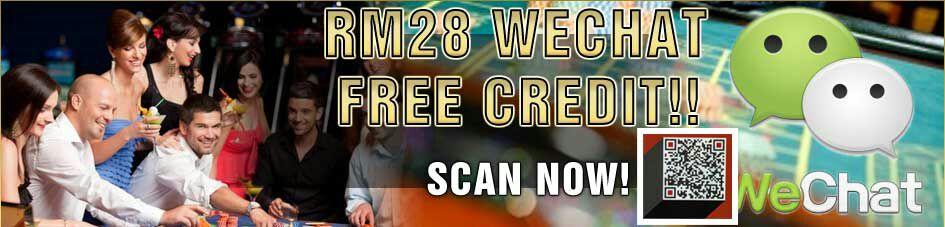 Online casino malaysia free credit 2018